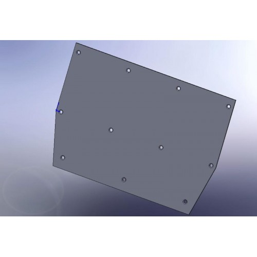 Accelerator Housing Wear Plate CL-94