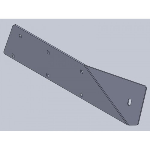 Accelerator Housing Wear Plate RH